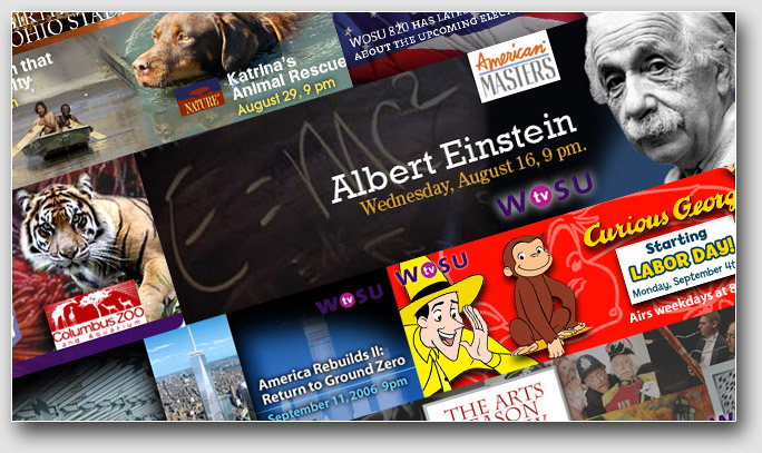 Web Banners, WOSU examples